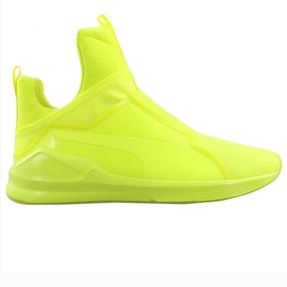 big sale 3862c 46618 Puma Fierce Bright Neon Yellow Sneaker